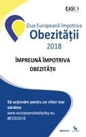 COMUNICAT DE PRESĂ - Ziua Europeană Împotriva Obezității, 19 mai 2018
