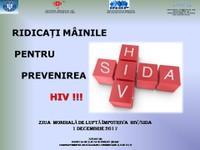 1 decembrie 2017 - Ziua Mondială HIV-SIDA