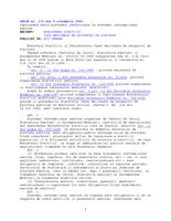 Ordinul ministrului sănătăţii publice şi al preşedintelui Casei Naţionale de Asigurări de Sănătate nr. 668/172 din 5 octombrie 1999