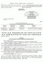Ordinul ministrului sănătății nr. 1059 din 20 noiembrie 2003