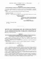 Ordinul ministrului sănătății publice nr. 919 din 27 iulie 2006